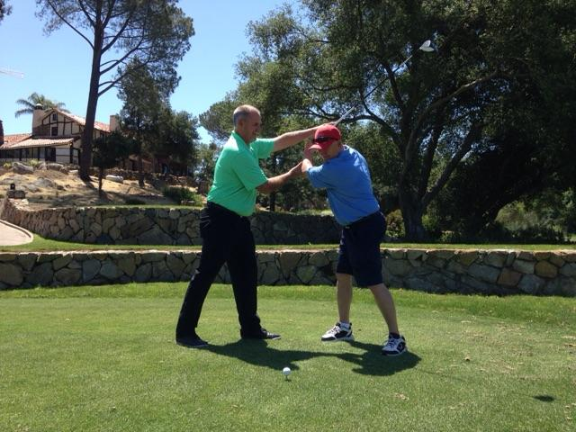 Golf lessons with Perry Dotson in Ramona California